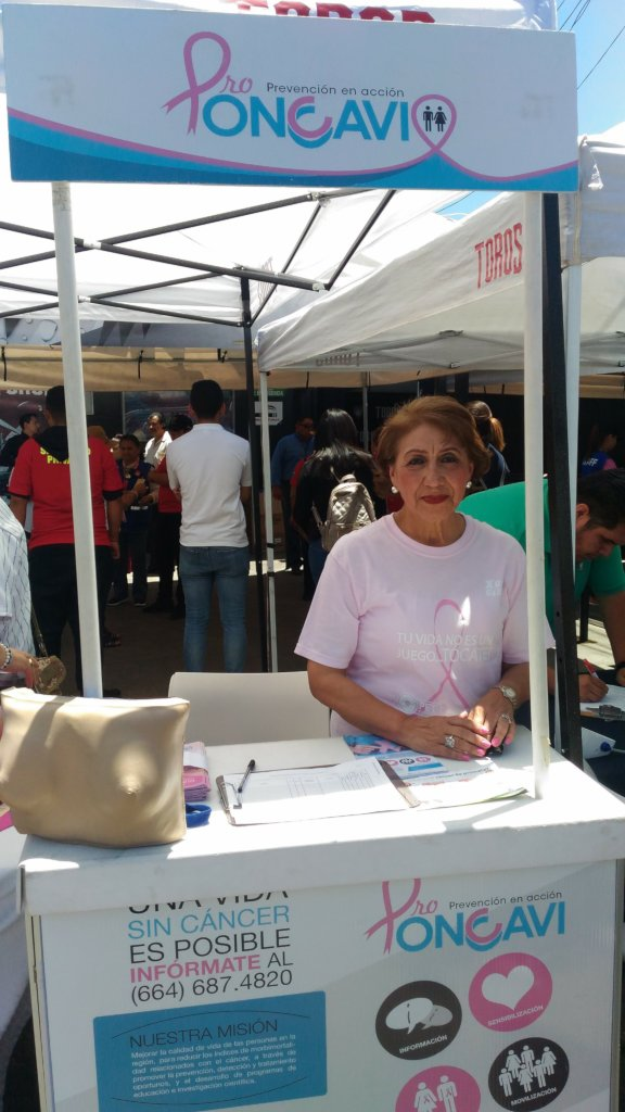 Supporting 50 women with cancer in Baja, Mexico