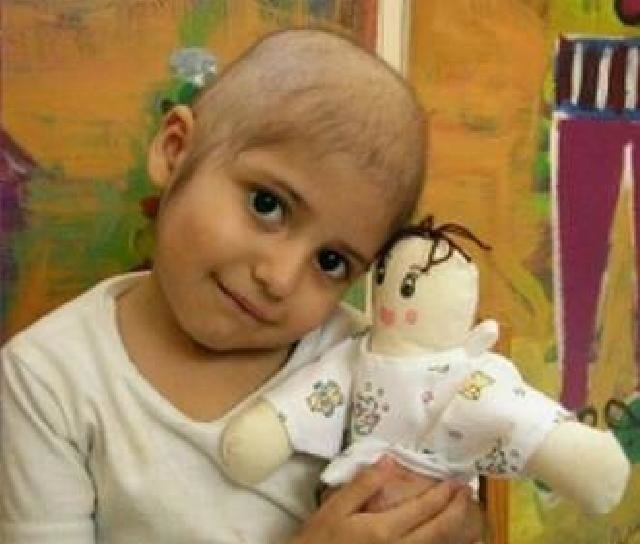 Buying medicines for 164 children with cancer.