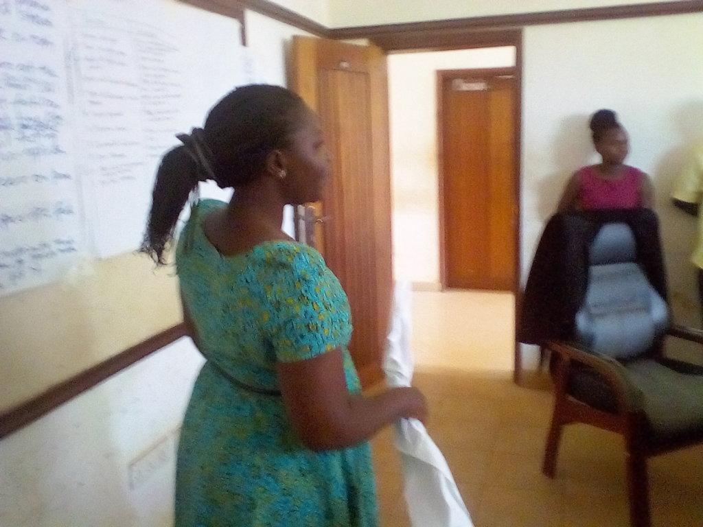 Educate young women about menstrual pain ,Uganda