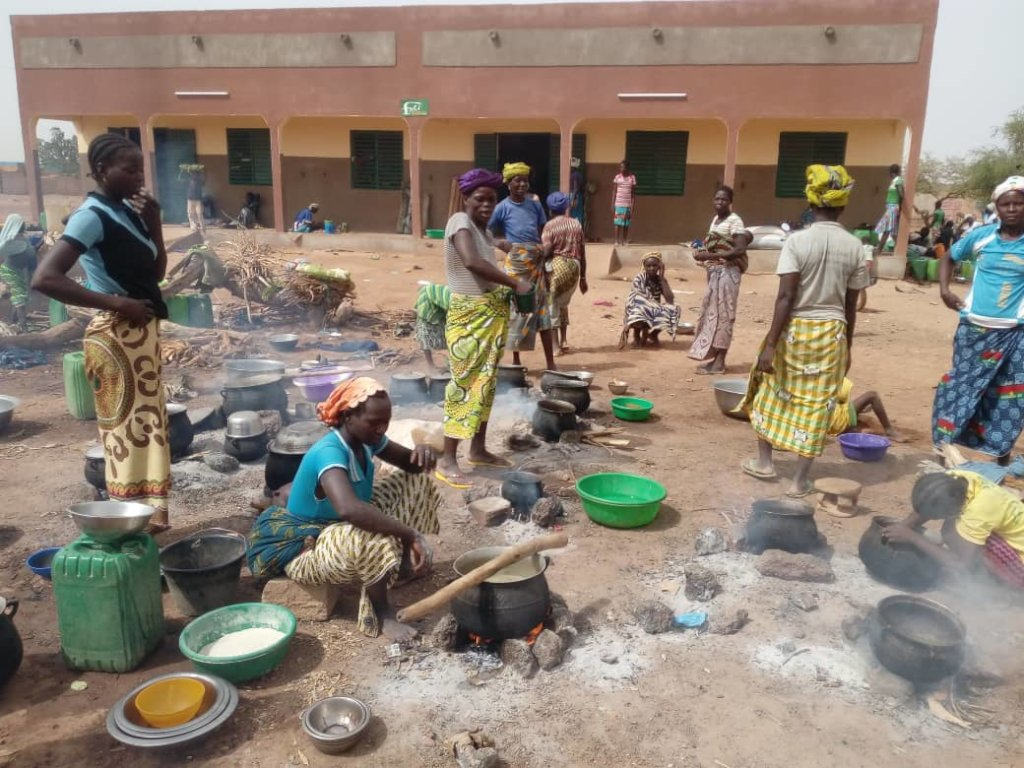 Support refugees from northern Burkina Faso