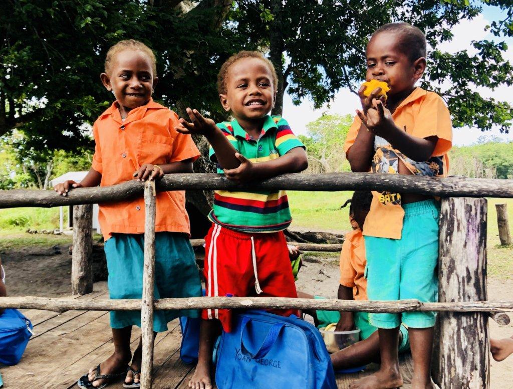 Helping School Children in Vanuatu