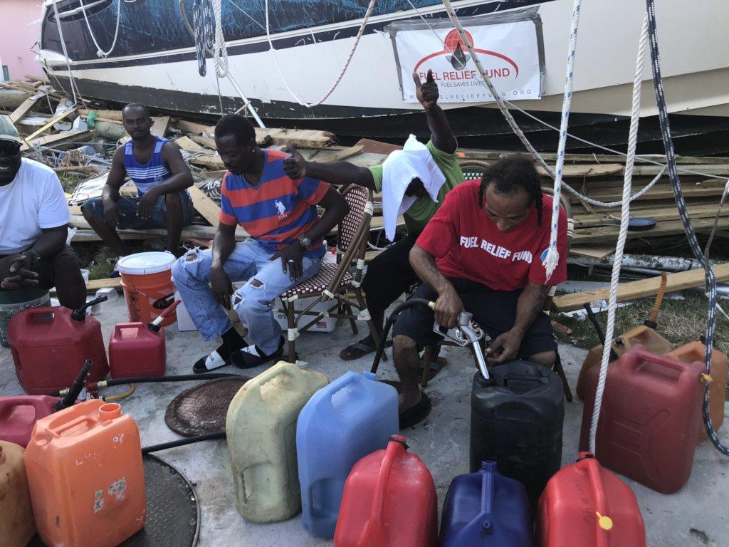 Emergency Fuel - Hurricane Dorian, Bahamas