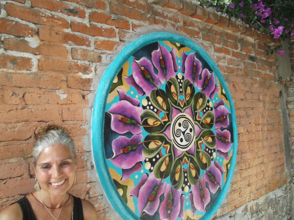 Create a mandala mural for CILA's kids