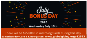 July Bonus day