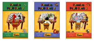 Example of Jolly Phonics books