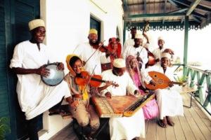 DCMA students rejoice during rehearsal on verandah
