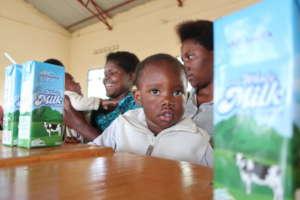 Milk for malnutrition