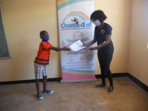 Distribution of homework packages to Student