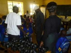 donation of shoes