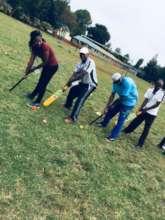 Volunteer Supervisors attend cricket training