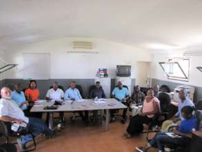Meeting with Vilalnkulo Government members