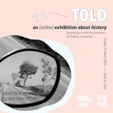 An exhibition opening via Instagram TV