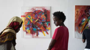 Exhibition at Nafasi