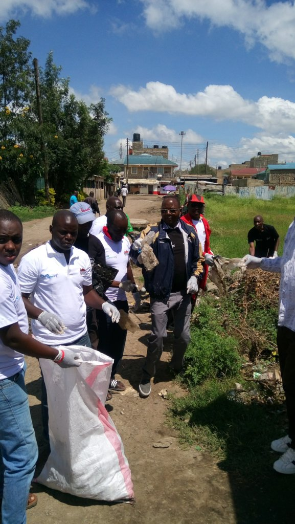 Save a community in Nairobi from hunger & disease