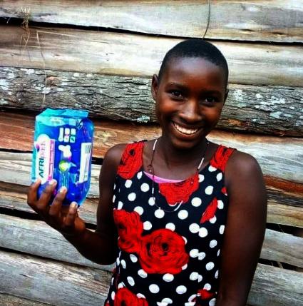 Reusable menstruation kits for 2000 girls