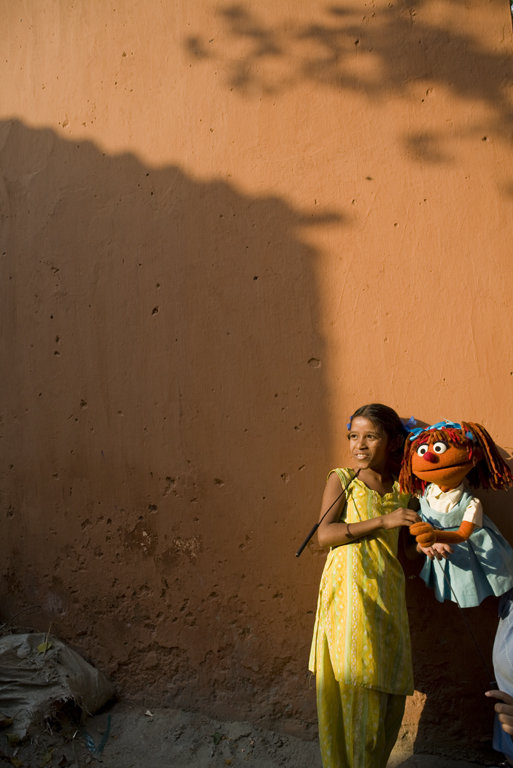 Help Sesame Street Educate Girls Worldwide