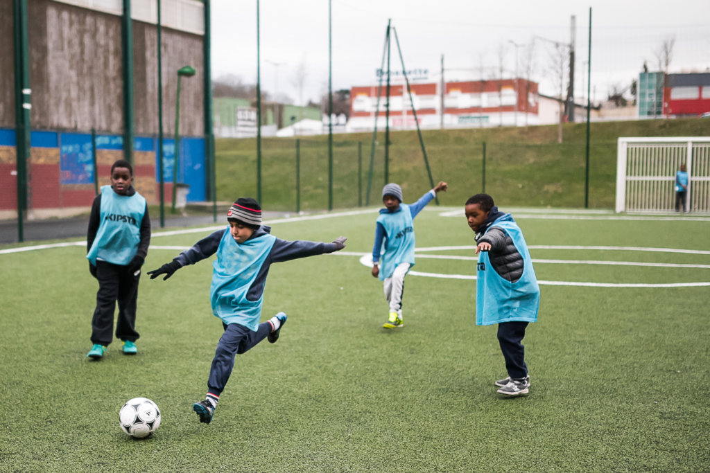 Help 6,500 disadvantaged kids with free sport