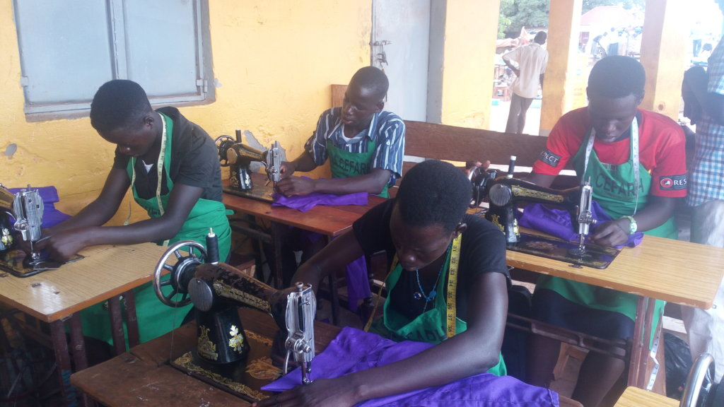 provide skill training for 300 youth in uganda