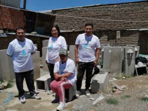 """The team is ready: """"Clean water is a human right""""!"""