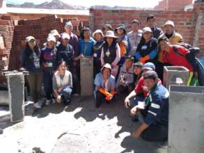 Biosand filters clean 100 Bolivian families' water