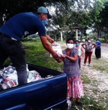 Emergency Food Distribution in El Ocotal, Honduras