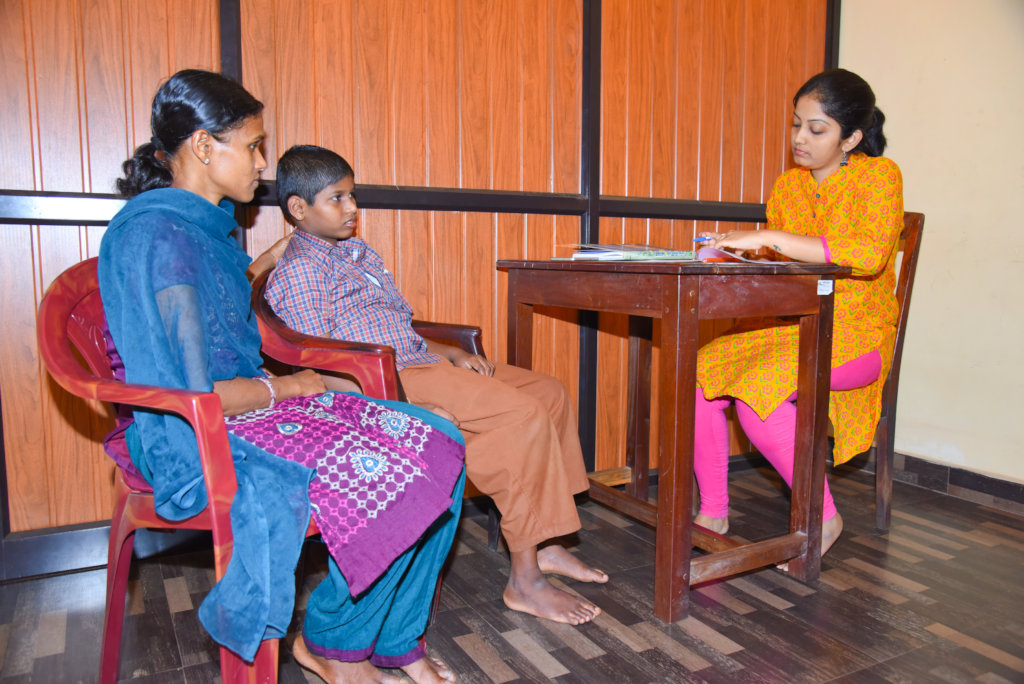 Speech Thearapy Unit for Disabled Students.