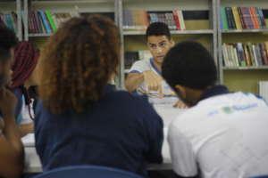 Students debating