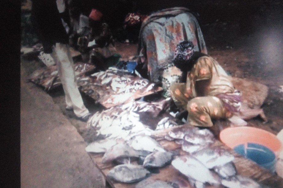 EMPOWER WOMEN SELLING FISH