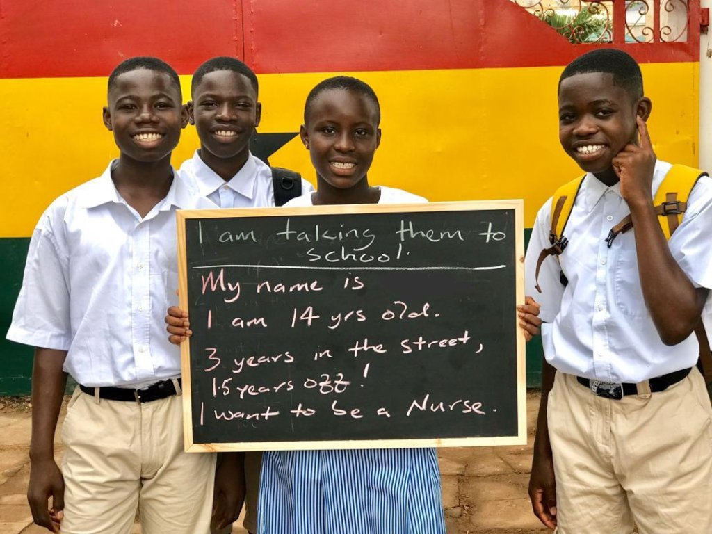 Help Ghanaian Children Leave the Streets