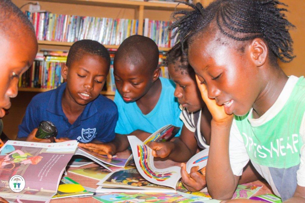 Build four libraries for Children in Sierra Leone