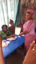 Certification of the Disenfrachised women at WIDC