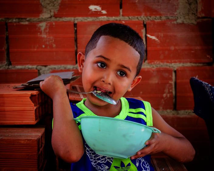 Helping Vulnerable Venezuelan Slum Children