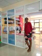 Visit to Linda's Little Smiles kids' clothing shop