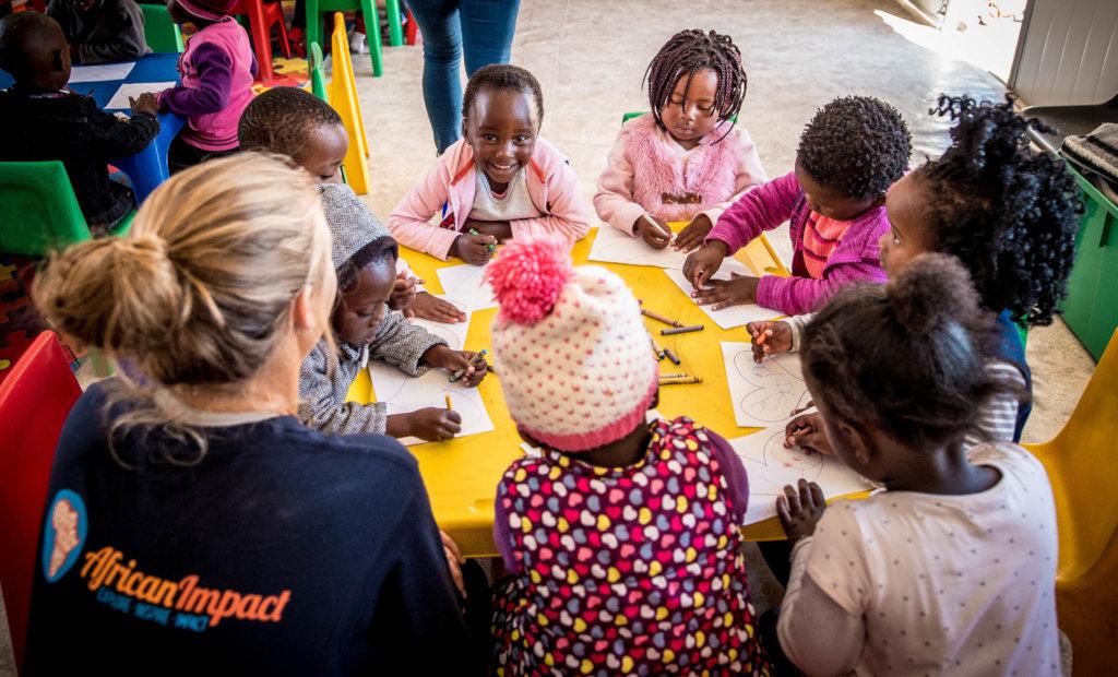 Build a Kindergarten Classroom in Cape Town