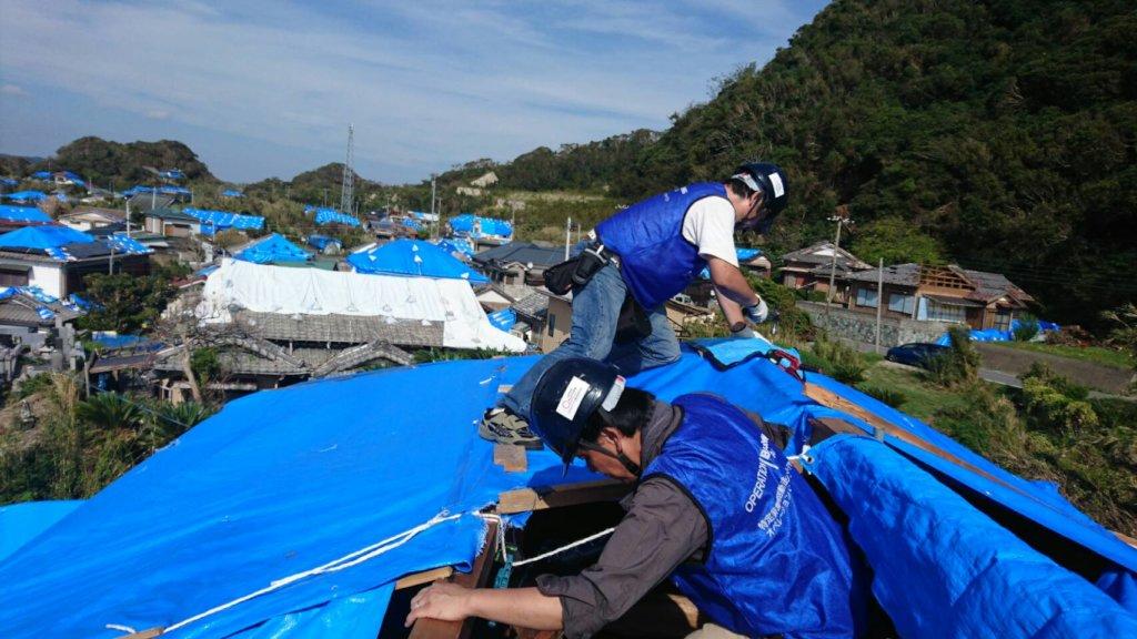 Typhoon Hagibis Disaster Relief in Japan
