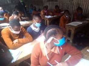 Grade 8 candidates after gradual school opening