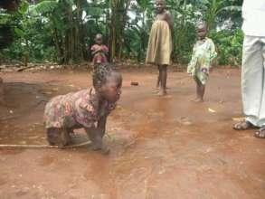Empowering 100 households for disabled children