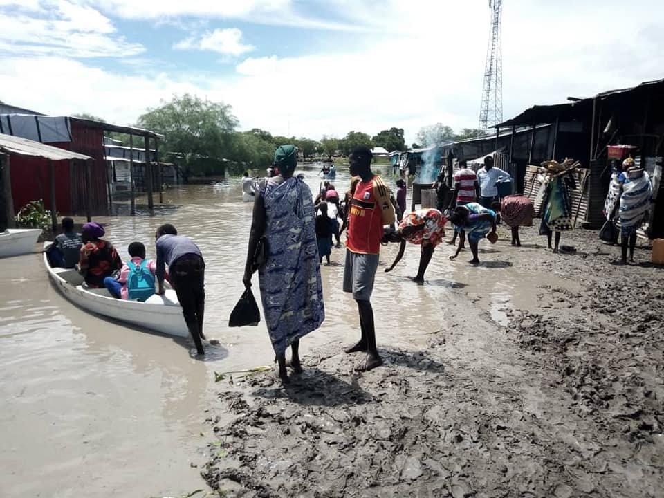 Emergency flood response in Greater Akobo & Pibor