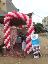 free health camp event arranged in poor community