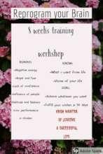 Flyer of Life Changing Program for girls