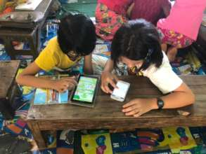 MyLibrary in action in Kayin State