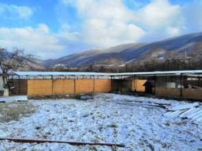 Shelter Baile Herculane in winter