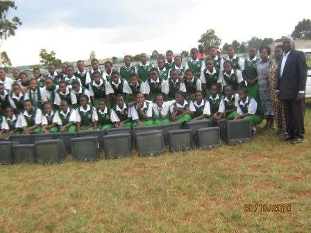DSAID Rural School Mobile Solar Computer Classroom