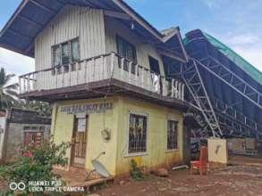 Daig Barangay Hall barely standing
