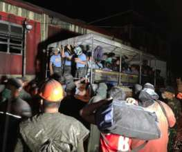 Various agencies &NGOs, including CJF, mobilized