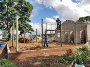 CL farm under construction