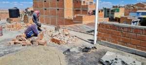 Much needed roof repairs begin