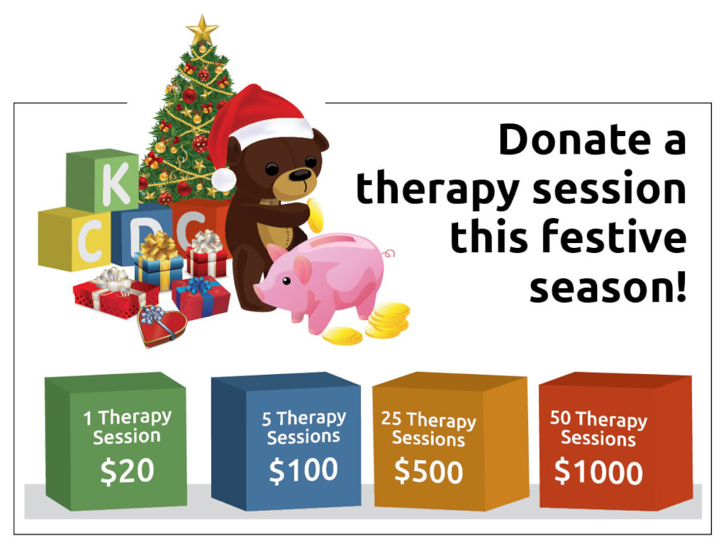 Provide 500 therapy sessions to disabled children