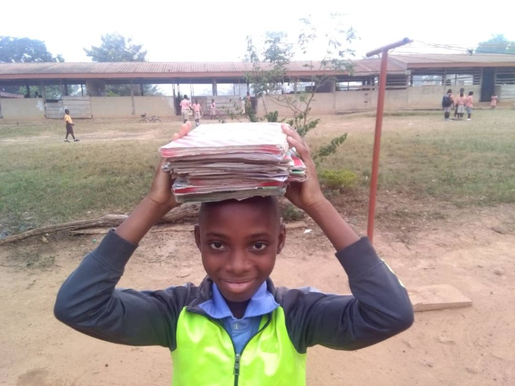 Backpacks With School Supplies for Kids in Ghana