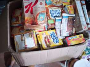 Food donations are vital for proper nutrition